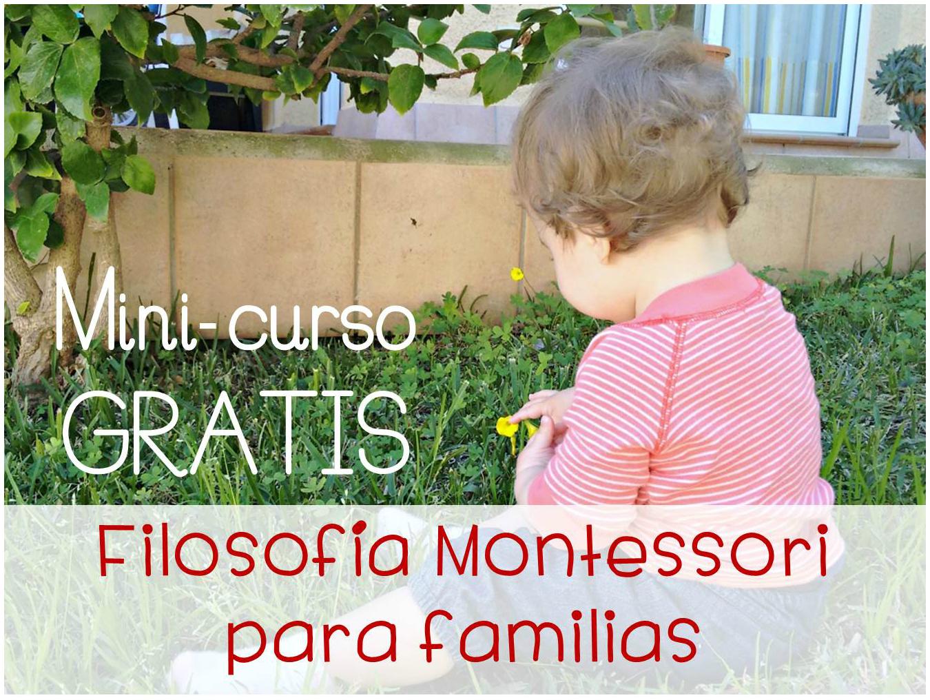 Curso gratis Filosofía Montessori para familias