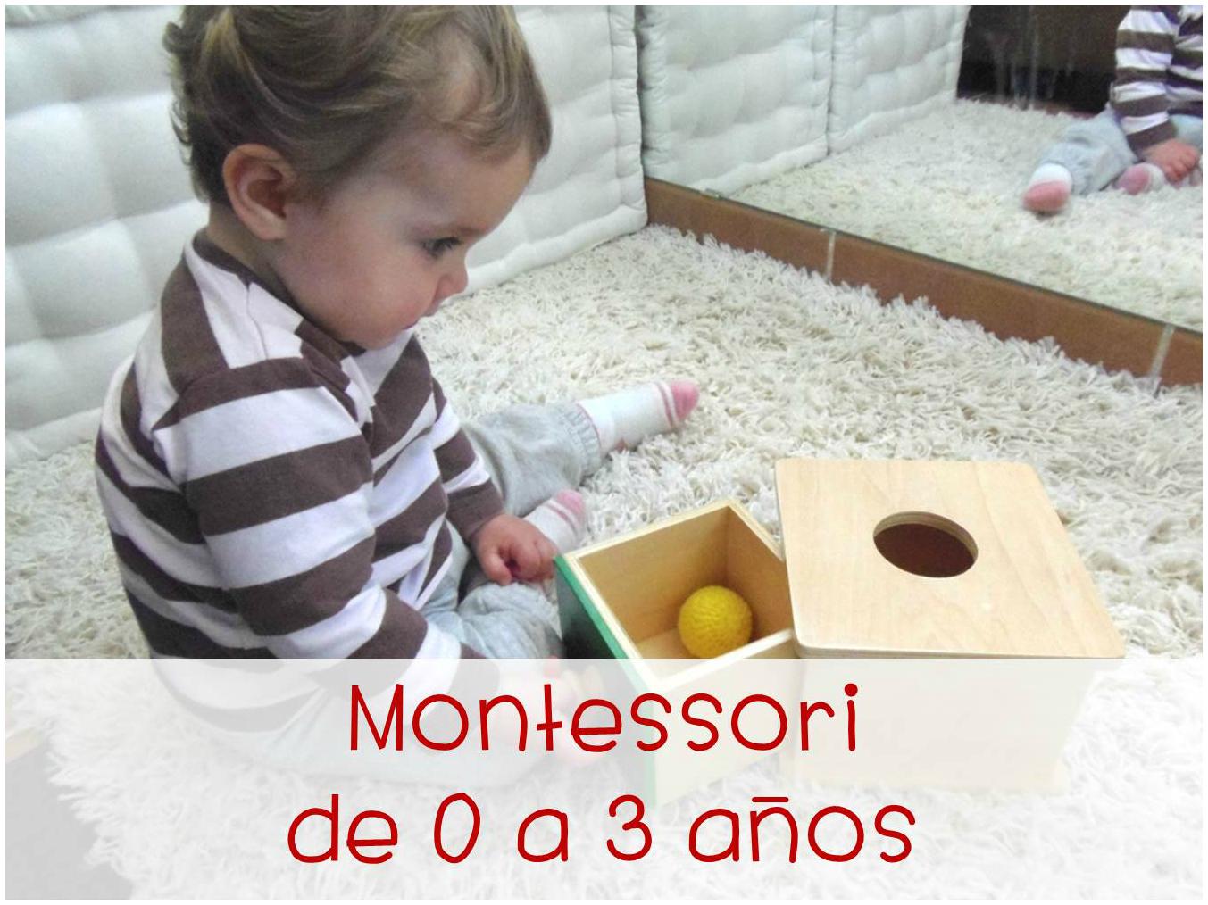 Curso online Montessori de 0 a 3 años